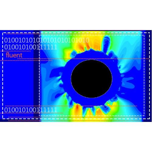 تحلیل امواج فراصوت در جریان سیال مغشوش اطراف استوانه متحرک