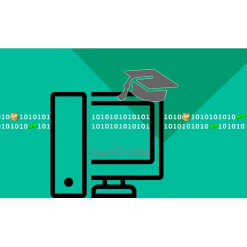 آموزش تکنیک هایی از  OpenFOAM شامل: حل موازی، ثبت مقادیر با زمان، ثبت مقادیر روی خط یا صفحه