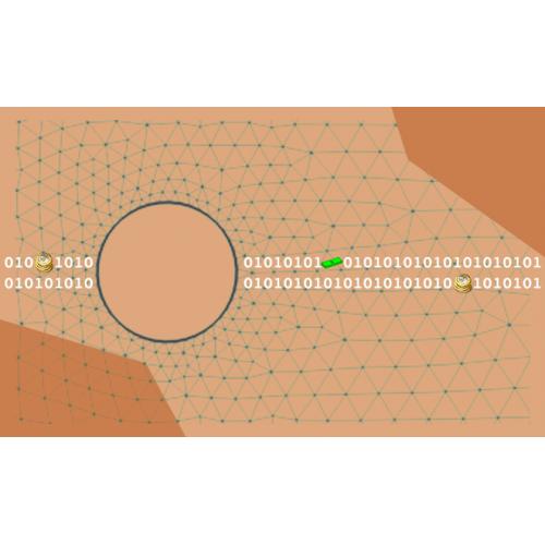 تبدیل ساختار داده ای سلول محور به ضلع محور (شبکه مثلثی)