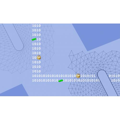 افزایش کیفیت شبکه مثلثی با تغییر اتصالات (دلانی کردن)