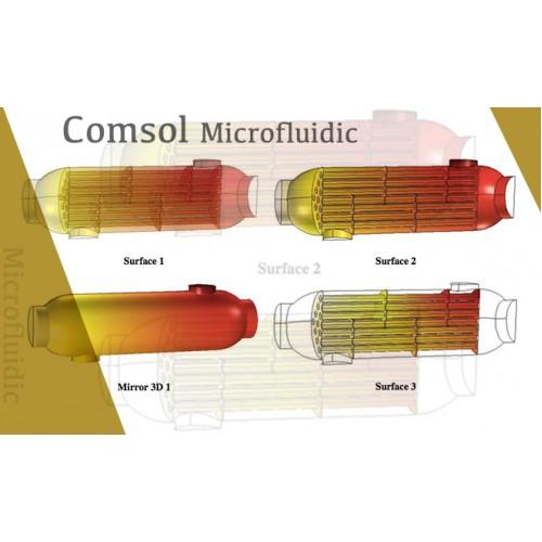 آموزش جامع به همراه شبیهسازی سیستمهای میکرو سیالی با نرمافزار COMSOL