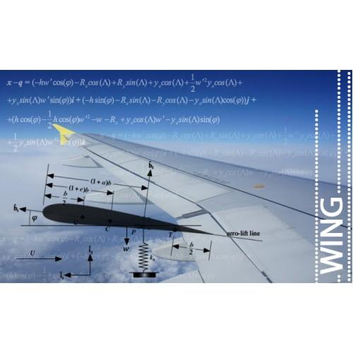 تحلیل آئروالاستیک بال هواپیما با در نظر گرفتن میراگر مغناطیسی در محل اتصال جرم خارجی
