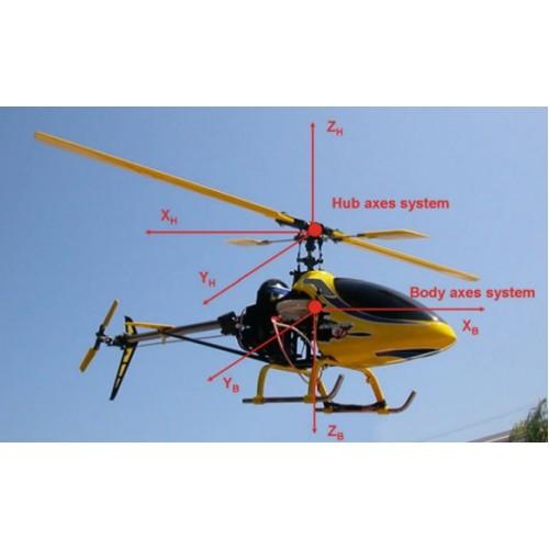 استخراج دینامیک کامل سیستم هلی کوپتر و طراحی کنترل کننده های پیشرفته و کلاسیک