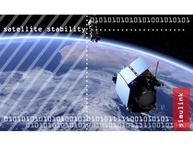 پروژه کنترل و پایدارسازی ماهواره با استفاده از چرخهای عکسالعملی با MATLAB + فیلم