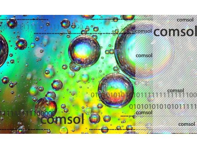 پروژه  شبیهسازی جداسازی آب و روغن توسط غشای صفحه تخت با نرم افزار COMSOL + فیلم