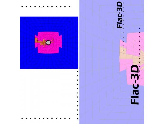 پروژه آموزش نرمافزار FLAC - 3D