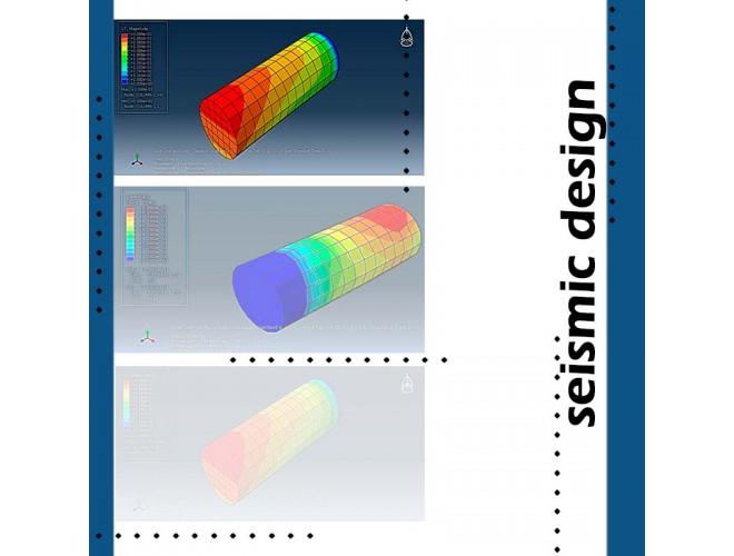 پروژه بهسازی ستونهای بتنی مسلح به کمک نرم افزار ABAQUS