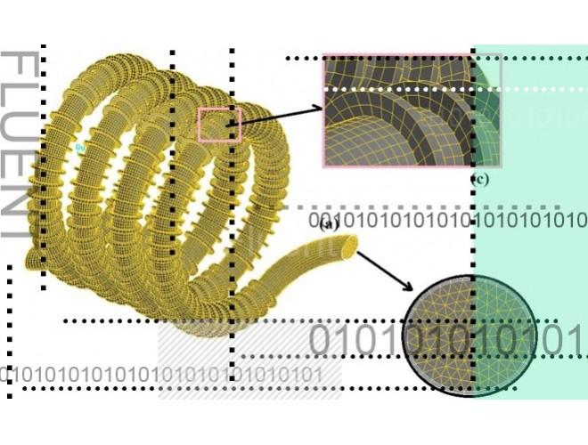 پروژه بهینه سازی و شبیهسازی کویل پیچشی پرهدار با استفاده از نرم افزار های FLUENT و CATIA و به همراه فیلم آموزشی نرم افزار های FLUENT و CATIA
