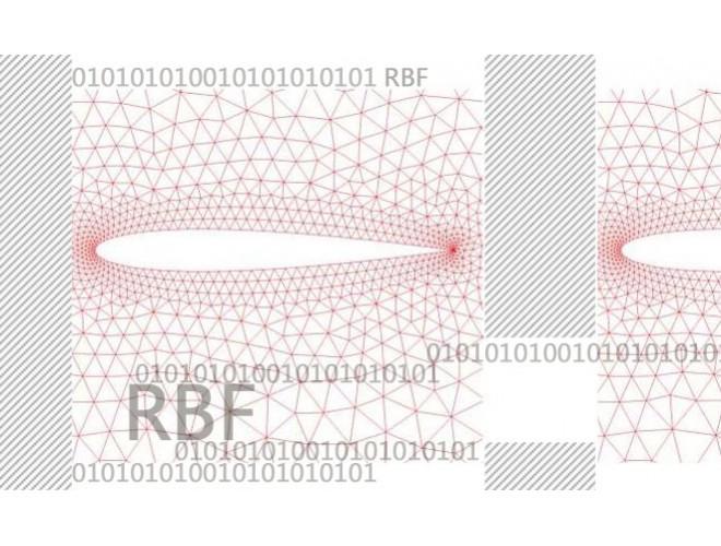 پروژه بهینه سازی روش توابع پایه ای شعاعی (RBF) جهت انجام جابجایی شبکه های محاسباتی بزرگ برای استفاده در صنایع با استفاده از نرم افزار فرترن و به همراه فیلم آموزشی نرم افزار فرترن