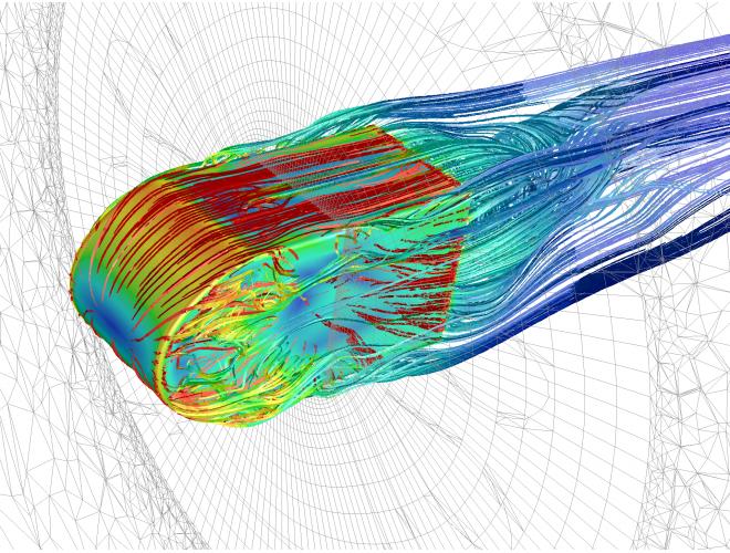 پروژه خود آموز شبیه سازی جریان آرام سیال در داخل یک کانال سه بعدی مستطیلی با استفاده از نرم افزار ANSYS – CFX