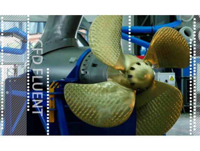 پروژه تولید شبکه حول ایرفویل ها و شبیه سازی جریان ویک پشت کشتی در حضور پروانه و سکان با استفاده از نرم افزار FLUENT و به همراه فیلم آموزشی نرم افزار FLUENT