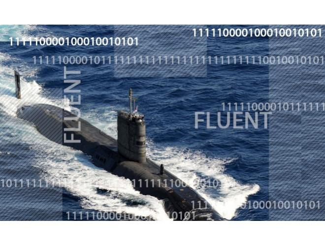 پروژه شبیهسازی زیردریایی در سطح آب در حضور موج چندجهته با استفاده از نرم افزار FLUENT و به همراه فیلم آموزشی نرم افزار FLUENT