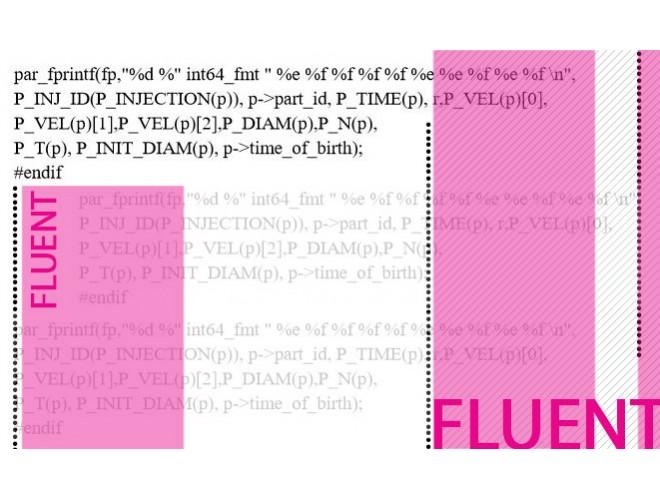 پروژه بررسی استفاده از ماکروی Define-DPM-Output در خروجی گرفتن از FLUENT و به همراه فیلم آموزشی نرم افزار FLUENT