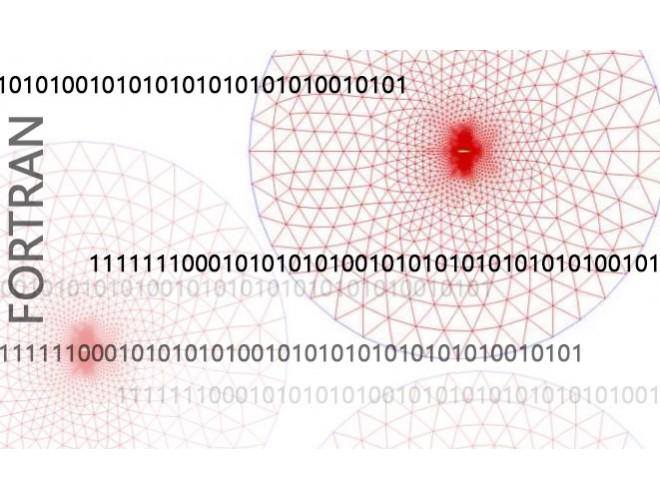پروژه بررسی روش های گسسته سازی ترم جابجایی معادلات جریان با دقت بالا با استفاده از نرم افزار فرترن و به همراه فیلم آموزشی نرم افزار فرترن