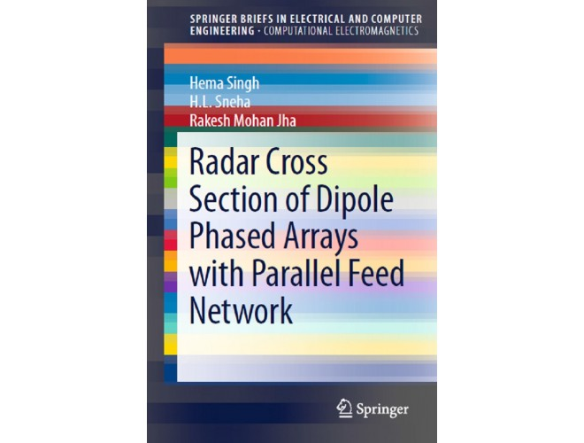Radar Cross Section of Dipole Phased Arrays with Parallel Feed Network