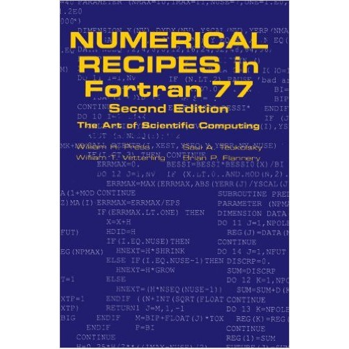Numerical Recipes in FORTRAN 77 -The Art of Scientific Computing-2nd edition