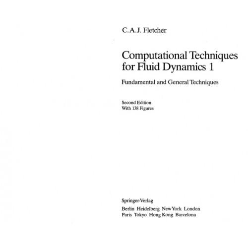 Computational techniques for fluid dynamics