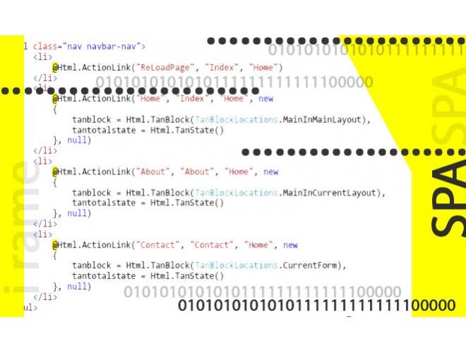 پروژه پیاده سازی خودکار پروژه های مبتنی بر SPA با استفاده از آجاکس و iframe به همراه فیلم آموزش نرم افزار آجاکس و iframe