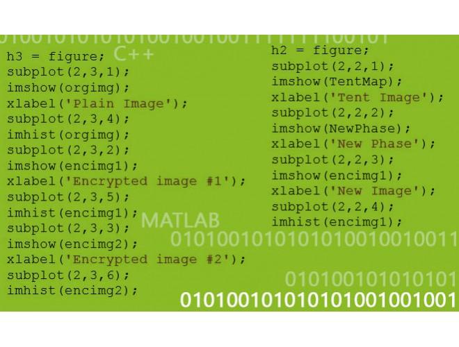 پروژه روش بدون اتلاف برای رمزنگاری آشوبگون تصاویر رنگی به صورت ترکیبی با MATLAB و ++C + فیلم