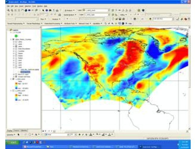 آموزش آشنایی و کار با داده های ارائه شده به فرمت NetCDF و استفاده از امکانات تحلیل های آنلاین