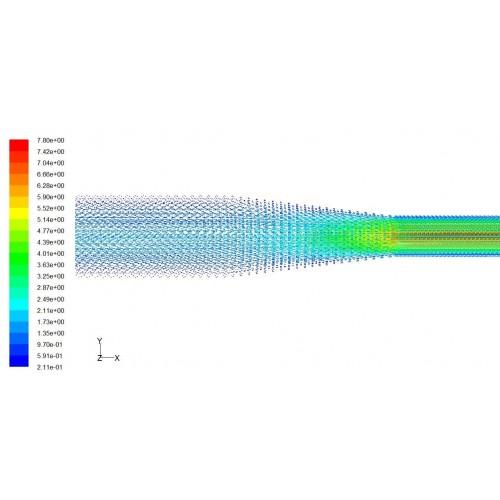 پروژه شبیه سازی CFD حرکت گاز شهری و بررسی پدیده خفگی با استفاده از نرم افزار FLUENT به همراه آموزش نرم افزار FLUENT