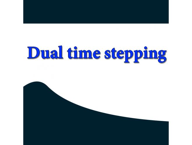 پروژه گام زمانی دوگانه با استفاده از نرم افزار فرترن