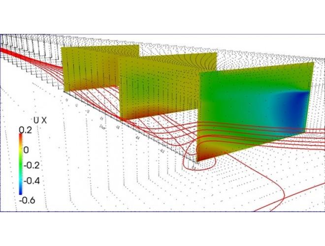 پروژه شبیه سازی عددی جریان سطح آزاد در محل اتصال کانال ها با استفاده از نرمافزار OpenFOAM