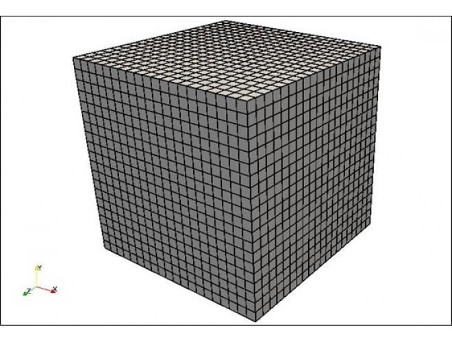پروژه مدل سازی تلاطم مایع مخزن تحت حرکت عرضی با استفاده از نرم افزار OpenFOAM