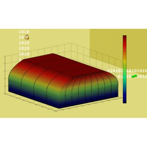حل عددی معادله لاپلاس سه بعدی به روش حجم محدود در اشکال منحنی