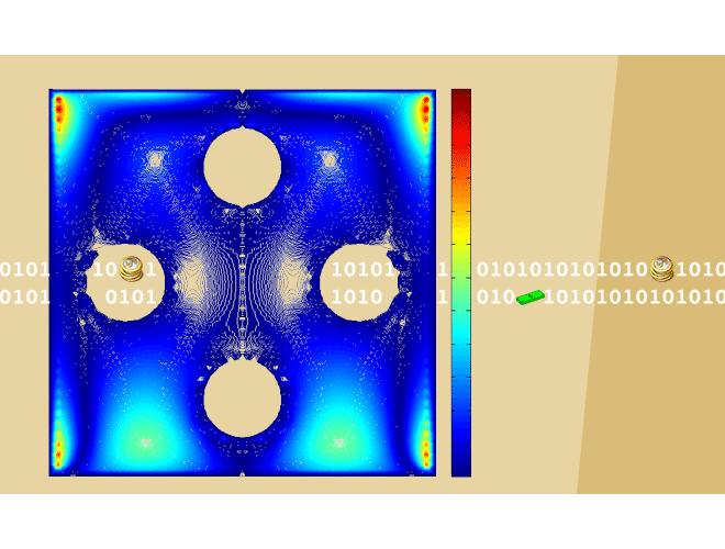 پروژه روش عناصر مرزی - تفاضلات متناهی برای معادلات پواسون روی شبکه مثلثی با استفاده از نرم افزار MATLAB