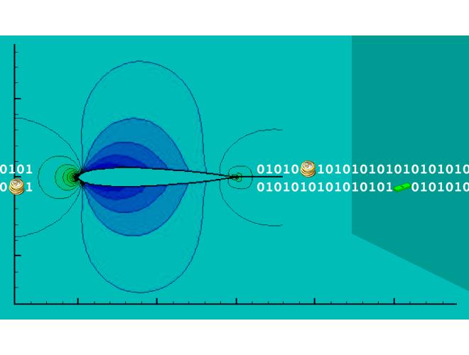 پروژه شبیهسازی جریان تراکمپذیر دوبعدی به روش فشرده (شبکه نوع _O) با استفاده از نرم افزار C