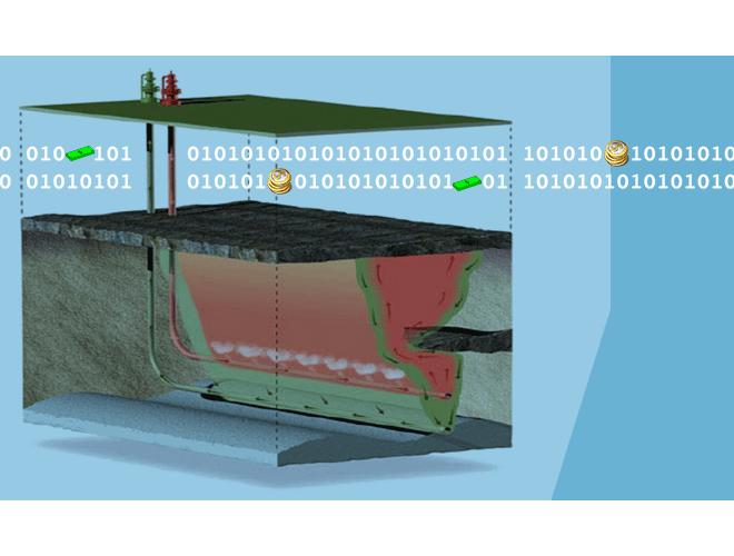 پروژه بررسی فرایند SAGD با استفاده از مدل شبکهای حفرهای با استفاده از نرم افزار MATLAB