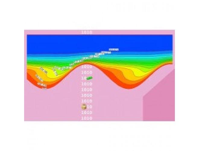 پروژه بررسی عددی جریان دوفازی نانو سیال در کانال موجی سینوسی در رژیم آرام و مغشوش (مبدلهای حرارتی فشرده) با استفاده از نرم افزار فرترن