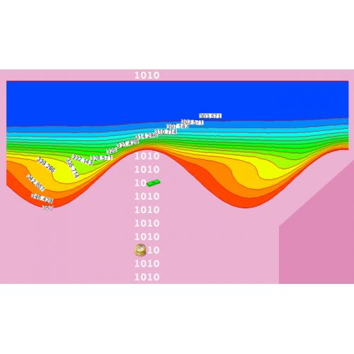 بررسی عددی جریان دوفازی نانوسیال در کانال موجی سینوسی در رژیم آرام و مغشوش (مبدلهای حرارتی فشرده)