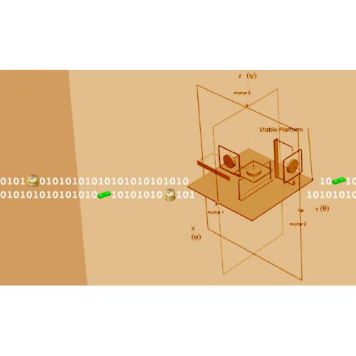 مدل سازی حرکت پاژیر 3 محوره روی حامل