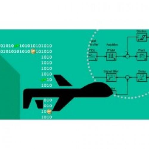 شبیه سازی شش درجه آزادی یک هواپیمای بدون سرنشین
