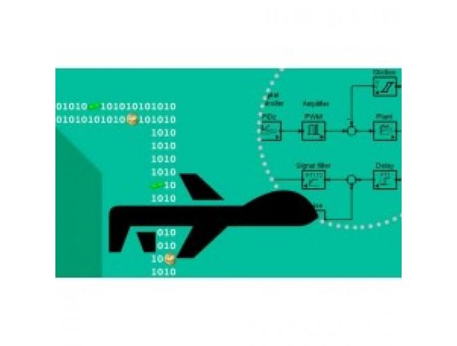 پروژه شبیه سازی شش درجه آزادی یک هواپیمای بدون سرنشین با استفاده از نرم افزار MATLAB