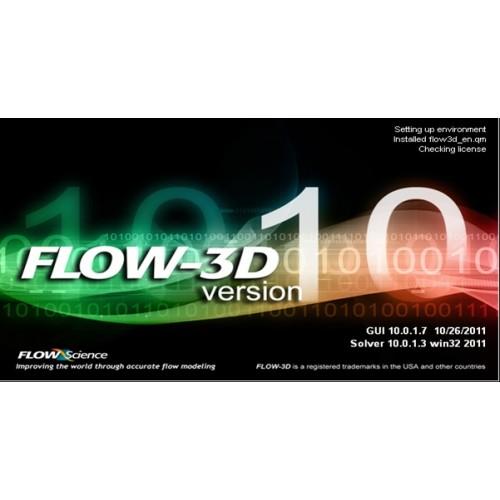 تحلیل سازه های هیدرولیکی با نرم افزازFLOW-3D به همراه آموزش آن