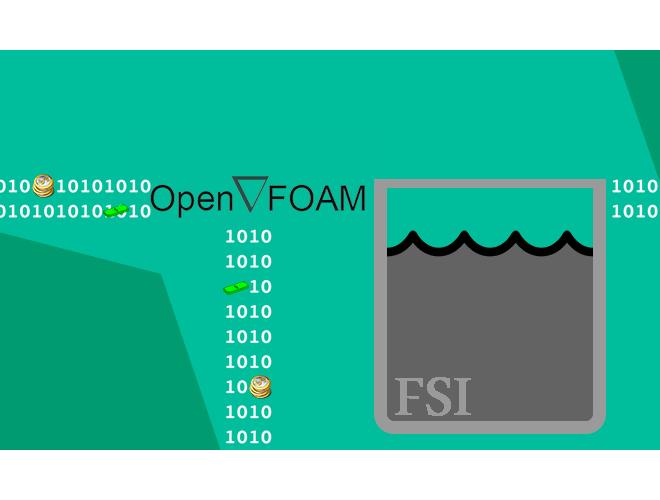 پروژه اجرای حلگر FSI با استفاده از نرم افزار OpenFOAM