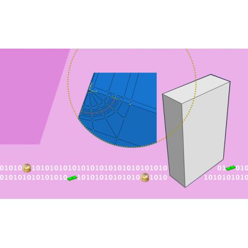 محاسبه انتگرال J  سه بعدی برای ترک های سطحی در ماده هدفمند ارتوتروپ