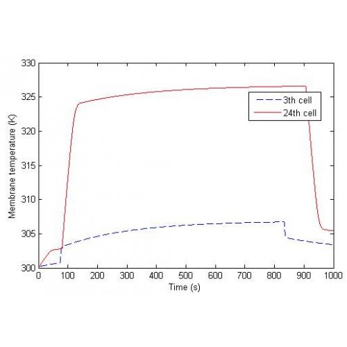 شبیه سازی دینامیکی پیل سوختی غشا پلیمری انتها بسته