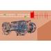 پروژه کنترل توربین گاز براساس دیتاهای عملکردی در حضور اغتشاش با فیلتر کالمن فازی با MATLAB