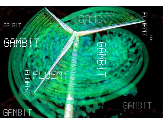 پروژه تحلیل جریان غیرلزج دوبعدی حول توربین بادی متحرک با استفاده از نرم افزار فرترن