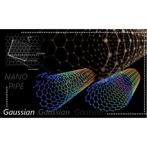 همانند سازی مولکولی فرآیند جذب  هیدروژن سولفید توسط نانوساختارهای کربنی  و آموزش نرم افزار گوسین