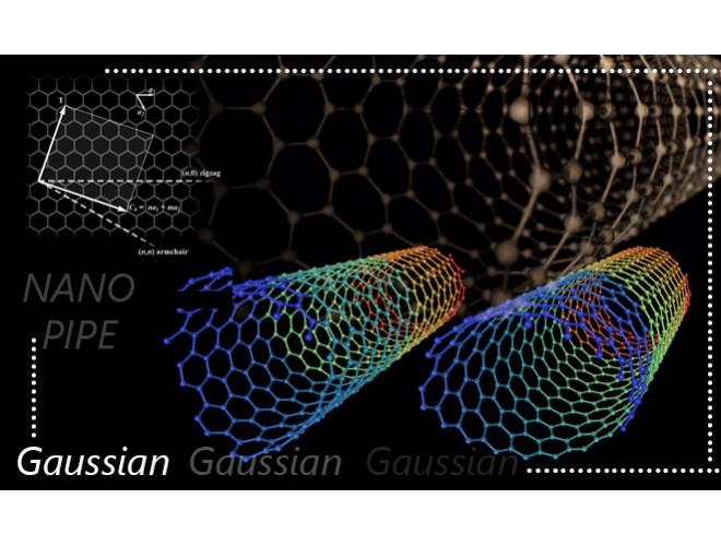 پروژه همانند سازی مولکولی فرآیند جذب هیدروژن سولفید توسط نانوساختارهای کربنی با استفاده از نرم افزار گوسین و به همراه فیلم آموزشی نرم افزار گوسین