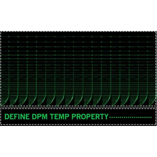 بررسی انتقال حرارت با استفاده از کد DEFINE_DPM_PROPERTY