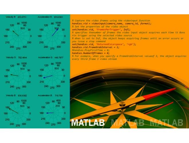 پروژه واسط کاربری برای ردیابی اشیاء در تصاویر ویدیوئی با MATLAB + فیلم
