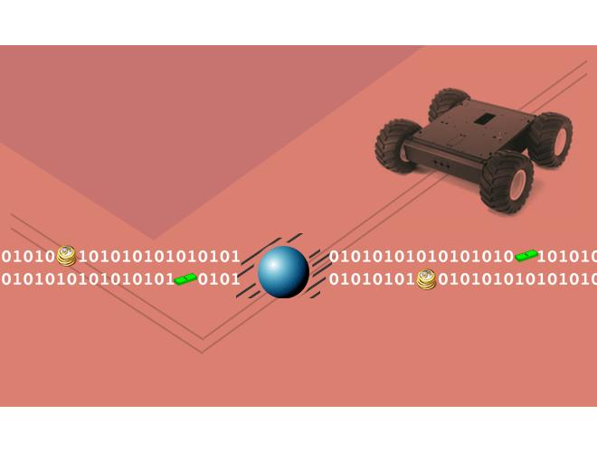 پروژه دینامیک و کنترل مجموعه ربات چرخ دار به منظور انجام عملیات هماهنگ تعقیب و شکار هدف در حال گریز با استفاده از نرم افزار MATLAB و به همراه فیلم آموزشی نرم افزار MATLAB