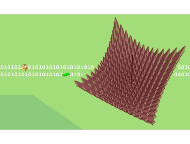 پروژه الگوریتم بهینهسازی توده ذرات PSO با استفاده از نرم افزار MATLAB