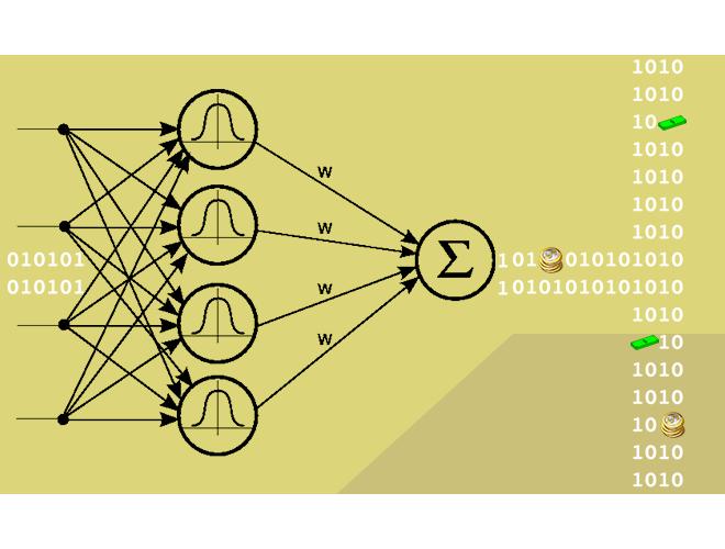 پروژه شبکه توابع پایه شعاعی با استفاده از نرم افزار MATLAB